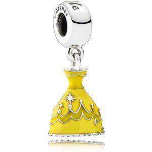 Pandora Disney Belle_s Dress Charm